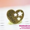 จี้,ตัวห้อยซิป รูปหัวใจและดาว